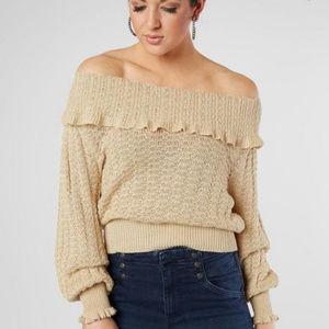 """Free People """"Crazy In Love"""" Sweater -NWOT Sz L"""